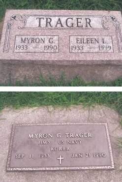 TRAGER, MYRON G - Hancock County, Iowa | MYRON G TRAGER
