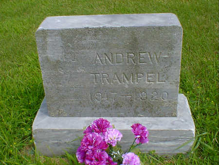TRAMPEL, ANDREW - Hancock County, Iowa | ANDREW TRAMPEL