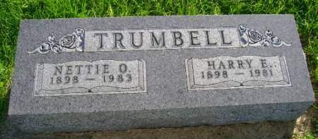 TRUMBELL, NETTIE O - Hancock County, Iowa | NETTIE O TRUMBELL