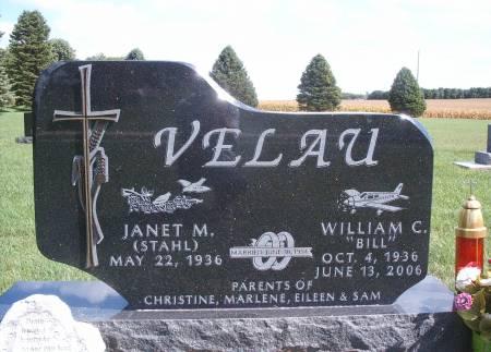 VELAU, WILLIAM - Hancock County, Iowa   WILLIAM VELAU