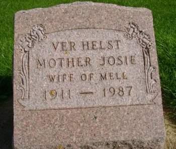 VERHELST, JOSIE - Hancock County, Iowa | JOSIE VERHELST