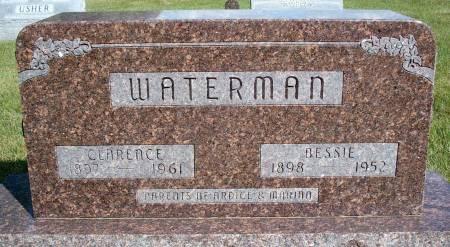 WATERMAN, BESSIE - Hancock County, Iowa | BESSIE WATERMAN