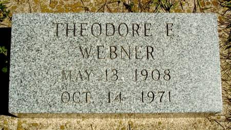WEBNER, THEODORE E - Hancock County, Iowa | THEODORE E WEBNER