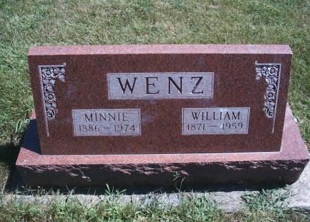 WENZ, WILLIAM - Hancock County, Iowa | WILLIAM WENZ