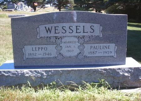 WESSELS, PAULINE - Hancock County, Iowa | PAULINE WESSELS