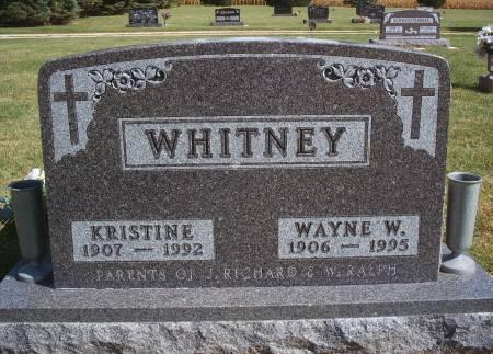 WHITNEY, KRISTINE - Hancock County, Iowa | KRISTINE WHITNEY