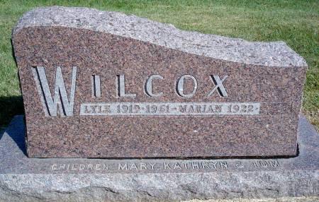 WILCOX, LYLE - Hancock County, Iowa | LYLE WILCOX