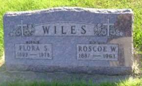 WILES, ROSCOE W - Hancock County, Iowa | ROSCOE W WILES
