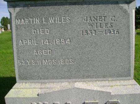 WILES, MARTIN L - Hancock County, Iowa | MARTIN L WILES