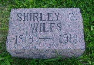 WILES, SHIRLEY D - Hancock County, Iowa | SHIRLEY D WILES
