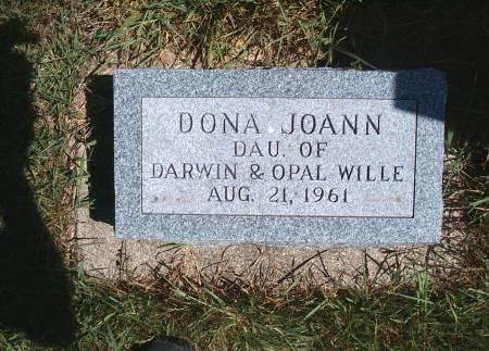 WILLE, DONA J - Hancock County, Iowa | DONA J WILLE