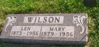 WILSON, MARY - Hancock County, Iowa | MARY WILSON