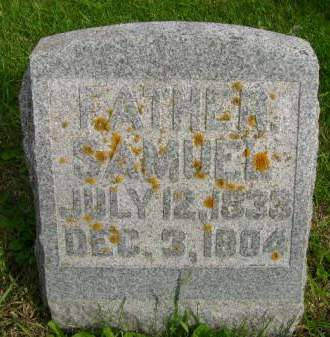 WRIGHT, SAMUEL - Hancock County, Iowa   SAMUEL WRIGHT