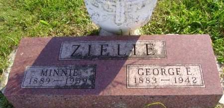 ZIELIE, GEORGE E - Hancock County, Iowa | GEORGE E ZIELIE