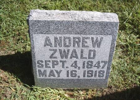 ZWALD, ANDREW - Hancock County, Iowa   ANDREW ZWALD