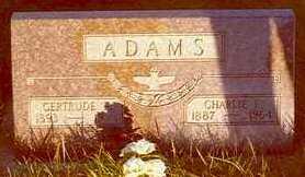 ADAMS, GERTRUDE - Hardin County, Iowa | GERTRUDE ADAMS
