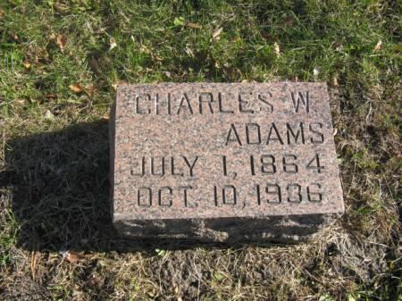 ADAMS, CHARLES W - Hardin County, Iowa | CHARLES W ADAMS