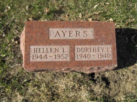 AYERS, DORTHEY L - Hardin County, Iowa | DORTHEY L AYERS