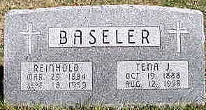 SMITH BASELER, TENA J - Hardin County, Iowa | TENA J SMITH BASELER