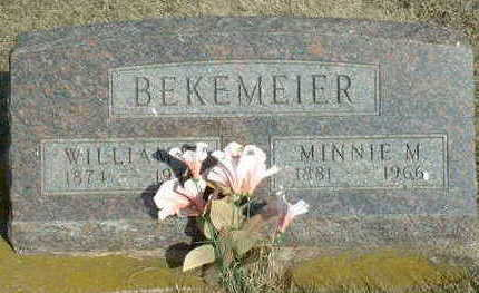 BEKEMEIER, WILLIAM - Hardin County, Iowa | WILLIAM BEKEMEIER
