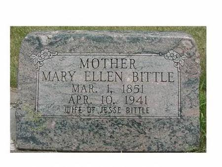 BITTLE, MARY ELLEN - Hardin County, Iowa | MARY ELLEN BITTLE