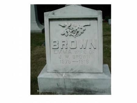 BROWN, EMMA - Hardin County, Iowa | EMMA BROWN