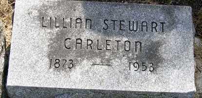 STEWART CARLETON, LILLIAN MARGARET - Hardin County, Iowa | LILLIAN MARGARET STEWART CARLETON