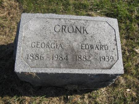 CRONK, GEORGIA - Hardin County, Iowa | GEORGIA CRONK