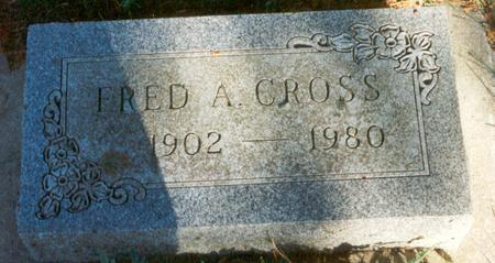 CROSS, FRED A - Hardin County, Iowa | FRED A CROSS