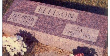 MCCULLOUGH ELLISON, ELIZABETH - Hardin County, Iowa | ELIZABETH MCCULLOUGH ELLISON