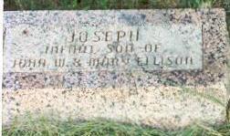 ELLISON, JOSEPH - Hardin County, Iowa | JOSEPH ELLISON