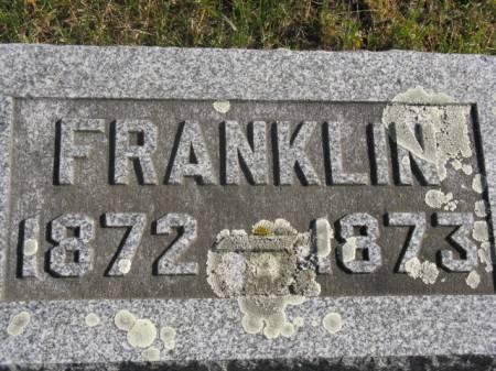 FAGG, FRANKLIN - Hardin County, Iowa | FRANKLIN FAGG