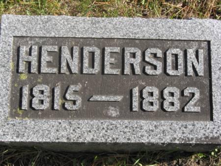 FAGG, HENDERSON - Hardin County, Iowa | HENDERSON FAGG