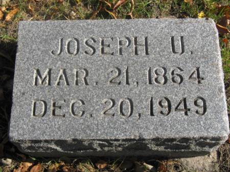 FAGG, JOSEPH U - Hardin County, Iowa | JOSEPH U FAGG