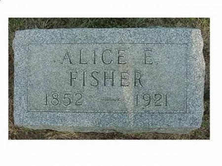 FISHER, ALICE - Hardin County, Iowa | ALICE FISHER
