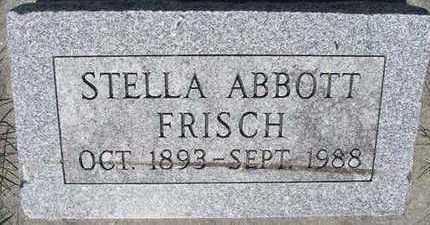 ABBOTT FRISCH, STELLA - Hardin County, Iowa | STELLA ABBOTT FRISCH