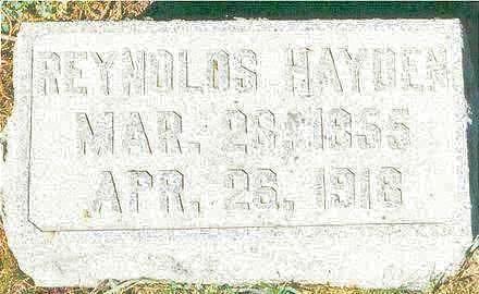 HAYDEN, REYNOLDS - Hardin County, Iowa | REYNOLDS HAYDEN