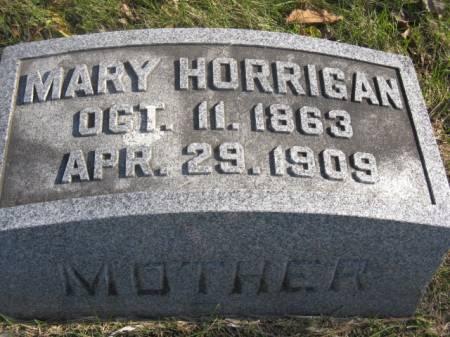 HORRIGAN, MARY - Hardin County, Iowa | MARY HORRIGAN
