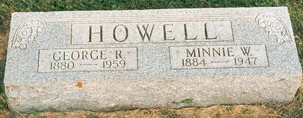 HOWELL, MINNIE - Hardin County, Iowa | MINNIE HOWELL