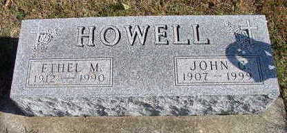 HOWELL, JOHN G - Hardin County, Iowa | JOHN G HOWELL