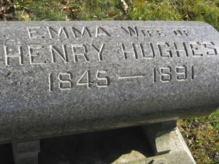 HUGHES, EMMA - Hardin County, Iowa | EMMA HUGHES