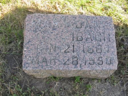 ADAMS IBACH, MARY JANE - Hardin County, Iowa | MARY JANE ADAMS IBACH