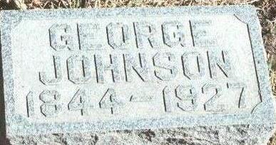 JOHNSON, GEORGE - Hardin County, Iowa | GEORGE JOHNSON