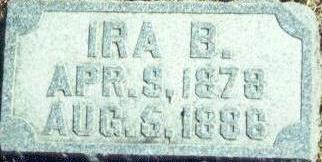 JOHNSON, IRA - Hardin County, Iowa   IRA JOHNSON