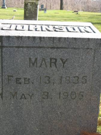 JOHNSON, MARY - Hardin County, Iowa | MARY JOHNSON
