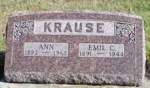 KRAUSE, ANN - Hardin County, Iowa | ANN KRAUSE
