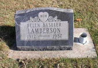 LAMBERSON, HELEN - Hardin County, Iowa | HELEN LAMBERSON