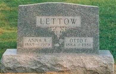 RUNGE LETTOW, ANNA - Hardin County, Iowa | ANNA RUNGE LETTOW