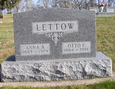 LETTOW, ANNA A - Hardin County, Iowa | ANNA A LETTOW