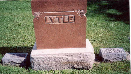 LYTLE, FAMILY STONE - Hardin County, Iowa   FAMILY STONE LYTLE